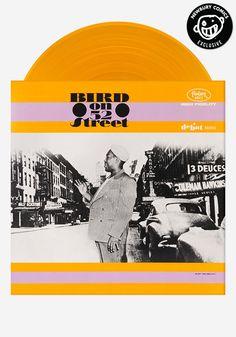 Charlie Parker - Bird On 52nd Street - Newbury Comics Colored Vinyl Record Exclusive! This classic jazz album looks gorgeous on sunny orange vinyl.
