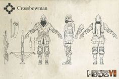 Haven Crossbowman (Heroes of Might and Magic VII) by m0zch0ps on DeviantArt