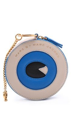 Marc by Marc Jacobs Eyeball Animal Zip Pouch