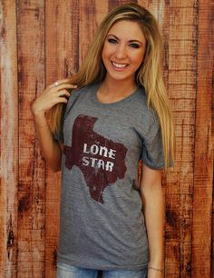 Lone Star State - ATHLETIC GREY