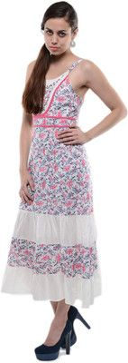 Buy U&F Women's Maxi Dress Online at Best Offer Prices @ Rs. 649/- In India. #Maxi #Dresses #India
