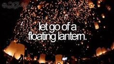 bucket list. before i die