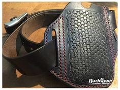 e2c87ebe46 Premium Handmade Leather belt holster iPhone 8 / 7 / 6S M15