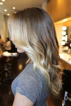 light & dark, hair done | http://best-braid-hair-styles.blogspot.com
