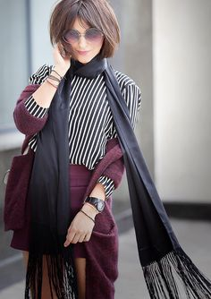 striped+top-and-skinny+fringed-silk+scarf