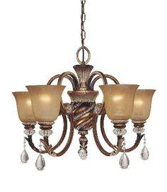 Lighting First Aston Court Bronze (Minka) medium kitchen chandelier 339.50