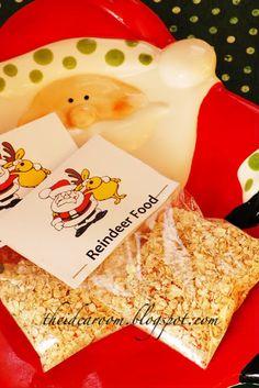 easy no glitter reindeer food!