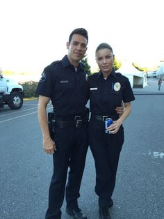 Check out how cute @LaurenGerman and @kevinmalejandro are in their rookie blues #Lucifer #flashback