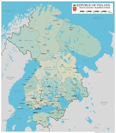 A Greater Finland by altmaps on DeviantArt Imaginary Maps, Alternate History, Cartography, Best Artist, Wallpaper S, Drawing S, Really Cool Stuff, Modern Art, Doodles
