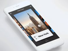 Travel Guide app animation by Igor Ivankovic