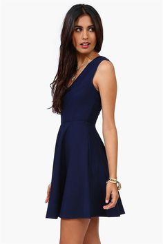 Good Girl Dress in Blue