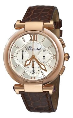 Amazon.com: Chopard Women's 384211-5001 Imperiale Rose Gold Chronograph Watch: Chopard: Clothing