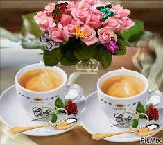 tom and jerry good morning gif Coffee Gif, Coffee Images, I Love Coffee, Coffee Quotes, Coffee Break, Coffee Cups, Beau Gif, Good Morning Coffee, Turkish Coffee