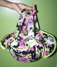 Free Casserole Dish Tote Sewing Tutorial