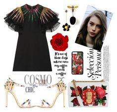 """FSJ stylish fashion high heels sandals"" by fsjamazon ❤ liked on Polyvore featuring Gucci and Dolce&Gabbana"