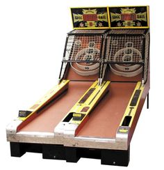 SkeeBall was invented in 1909 by J. Dickinson Este in the city of Philadelphia. Because players won prizes, it was considered a form of gambling and banned in some states.