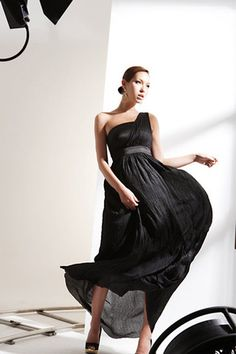 One Shoulder Sleeveless Straight Floor length Silk Dresses – Chic-aholics. Huge sale! www.chicaholics.com Was $49.99 Now $33.99