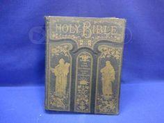 Beautiful Victorian Bible 1800's