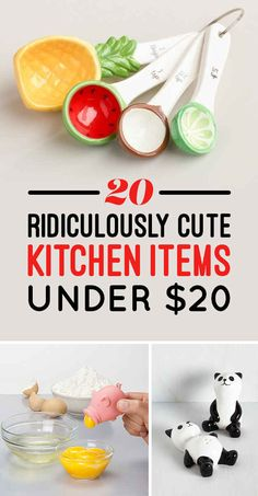 20 Ridiculously Cute Kitchen Items Under $20