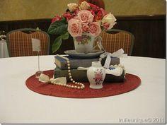 Vintage table scape