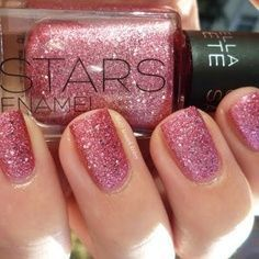 Lila #nails #glitter
