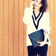 Black'n white // Classic // Lea Clutch