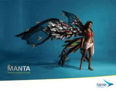 Stunning Brand Design from Ecuador's Tame Airlines Creative Advertising, Ads Creative, Advertising Design, Creative Ideas, Design Poster, Ad Design, Branding Design, Graphic Design, Poster Ads