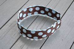Girl Scout Brownie Headband by YeauxYeauxBows on Etsy, $12.00