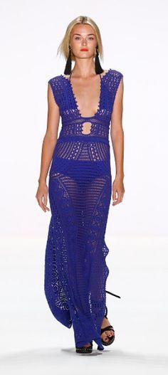 Laurel at Mercedes-Benz Fashion Week Spring/Summer 2017 - Crochet Dress