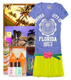 """""""(For Samatha loves The Sunsine) The Sunshine State!"""" by tshirtsuperstar41 ❤ liked on Polyvore featuring South Beach, Victoria's Secret, LORAC, Pachacuti, PBteen, ADAM, Paul Smith, Zara, Brian Atwood and American Apparel"""