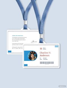 Elementary School ID Card Template Employee Id Card, School Certificate, School Id, Id Card Template, Microsoft Publisher, Background Images Hd, Osho, Text Color, When Someone