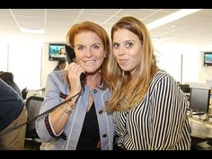 Princess Beatrice of York and Dutchess of York Sarah Ferguson attend the Annual Day