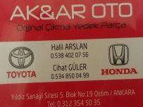 Ak Ar Otomotiv  #Toyota #Honda Çıkma Parça
