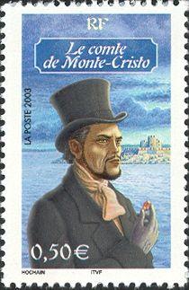 Literary Stamps: Dumas, Alexander (1802-1870)