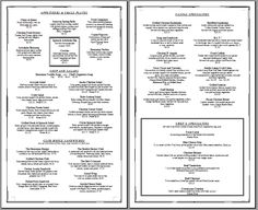 Free Printable Template Restaurant Menus | ... simple menu template that can be edited to include your menu item