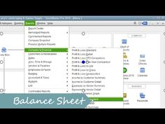 What is a Balance Sheet? How to use it inside QuickBooks?