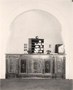 Hotel Reception Desk 20s