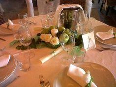 table decoration @ Castore Sorrento