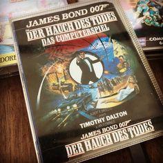 #JamesBond #007 #TheLivingDaylights #Commodore64 #C64 #Datasette #CIB #Domark #Retro #RetroGamer #RetroGamer #CIBSunday  #nescommando #DerHauchDesTodes #retromaniac #Nostalgie #Nostalgia  #Imagine #Dortmund #LivingDaylights #JamesBondDerHauchDesTodes #JamesBondTheLivingDaylights