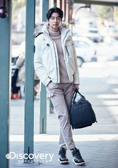We're back with more Gong Yoo fashion from Goblin, and we're going on a snowy expedition to discover all the winter fashion from this show! Gong Yoo was the model explorer for Discover… Coffee Prince, Korean Star, Korean Men, Korean Celebrities, Korean Actors, Train To Busan, Goblin Gong Yoo, Yoo Gong, Fashion Brand