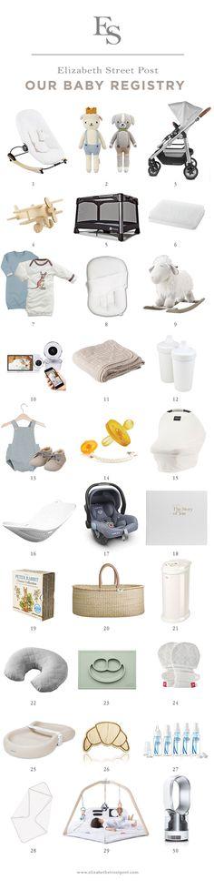 a comprehensive, stylish, neutral baby registry // alaina kaczmarski baby registry
