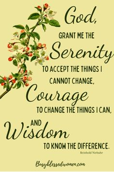 Serenity Prayer Meaning, Serenity Prayer Quotes, Faith Prayer, Faith Quotes, Words Quotes, Miracle Healing Prayer, Prayers For Healing, Bible Prayers, Yellow Quotes
