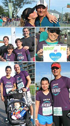 Mosaico Athenas dia dos pais, eu atleta (Foto: Carla Gomes)