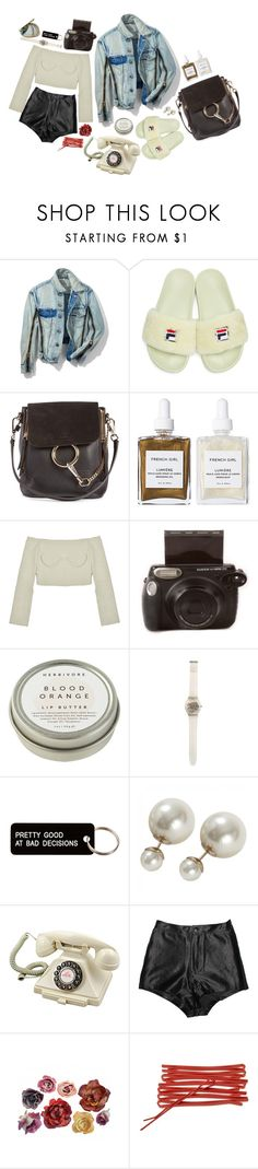 """S l e e p"" by branja ❤ liked on Polyvore featuring 3.1 Phillip Lim, Baja East, Chloé, French Girl, Fujifilm, CB2, Swatch, Various Projects, Marc Jacobs and Retrò"