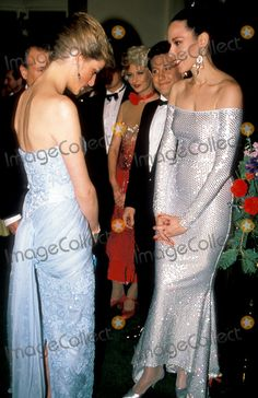 Princess Diana , Birthright Ball at the Savoy Photo By:dave Chancellor-alpha-Globe Photos, Inc