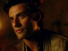Oscar Isaac as Poe Dameron in Star Wars: The Force Awakens