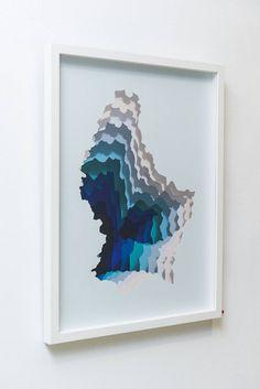 Hidden Portals of Color Paintings – Fubiz Media
