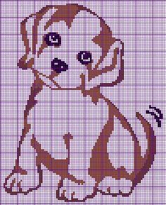 Cantinho da Jana: Gráficos de ponto cruz de cachorros
