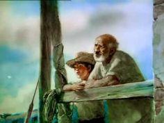 Vieil homme et la mer Housse Livre Art Imprimé Hemingway Affiche