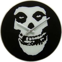 Click for Full Size Image of The Misfits, Clock, Crimson Ghost